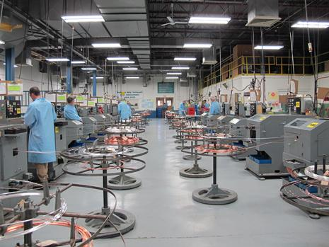Bimetal Rivet Production Area